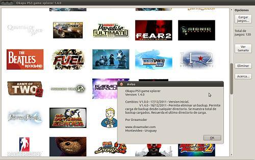 Okapu PS3 Game Xplorer v1.4.0 Homebrew App for Linux Arrives