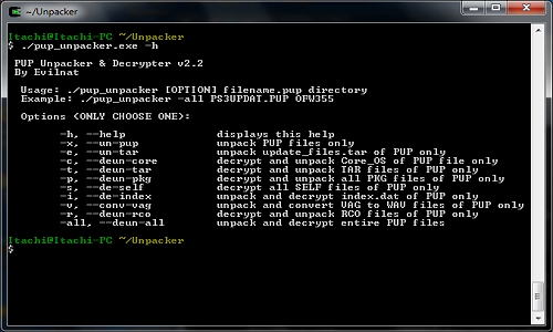 PS3 PUP Unpacker & Decrypter v2.2 Homebrew App Arrives