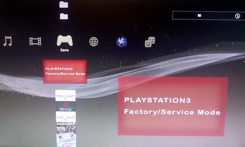 PS3 FactoryServiceMode Tool v0.1 Arrives, No PS3 JIG Required!