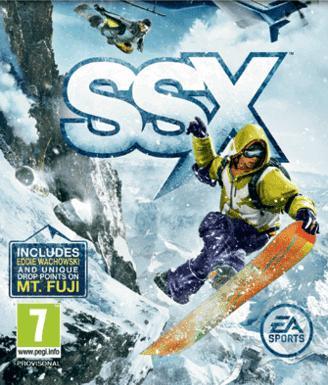 SSX DLC Mt. FUJI & FRIENDS PACK (TB)