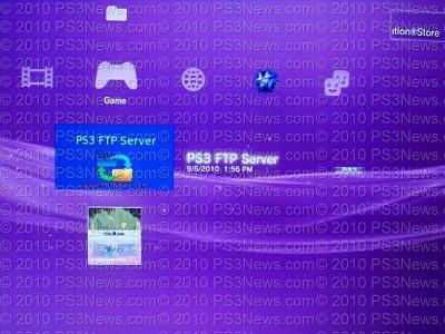 PS3 FTP Server