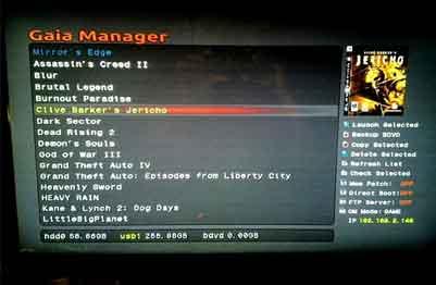 Gaia Manager v1.0