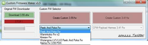 Вышел Custom Firmware Maker v1.5