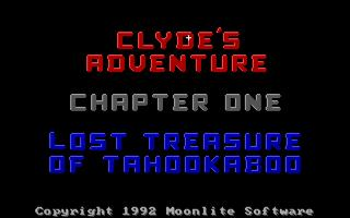 PS3 Clyde's Adventure - DOS game port