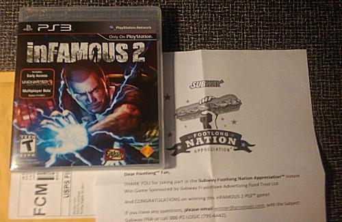 InFamous 2 Работает с патчем EBOOT.BIN на PS3 Custom Firmware