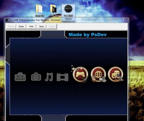 XMB Theme Emulator