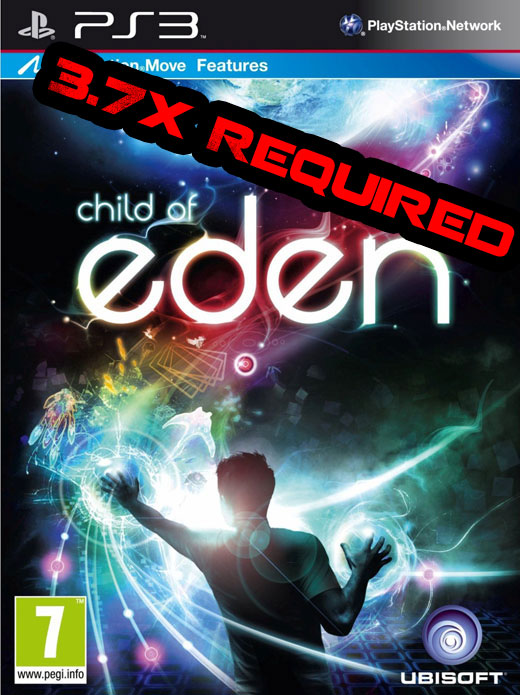 First PS3 3.70+ Game: Child of Eden