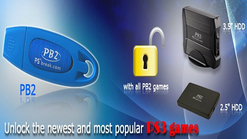 PB2 PS3 JailBreak 2 (JB2) True Blue (TB) Dongle Clone Arrives