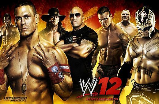 WWE '12: THE ROCK DLC (BLUS30841)