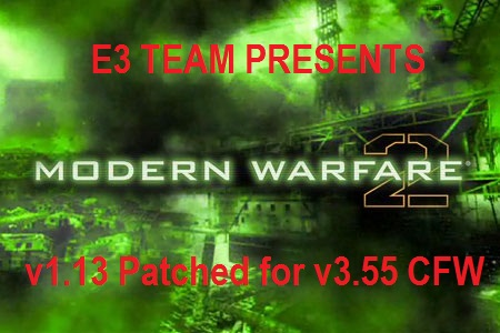Запуск Modern Warfare 2 (BLES00691) c Update 1.13