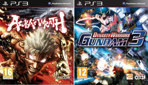 Asura's Wrath & Dynasty Warriors Gundam 3 DLC