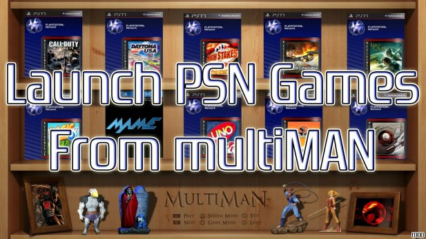 TUTORIAL - Launch PSN Games from multiMAN