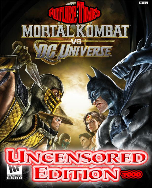 Mortal Kombat Vs DC Universe Uncensored Mod Pack