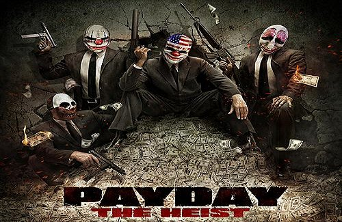 PayDay: The Heist & More Fixed for 3.55 CFW by pr0p0sitionJOE & Friend