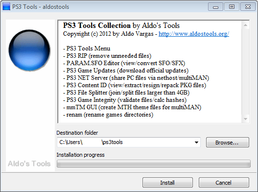 PS3 Tools Collection 2.3.2
