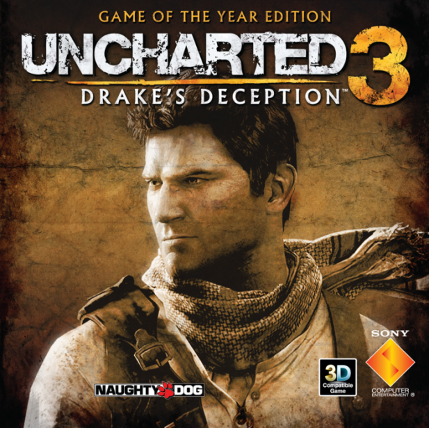 Uncharted 3: Drake's Deception Game of the Year Edition PS3 CFW Fix