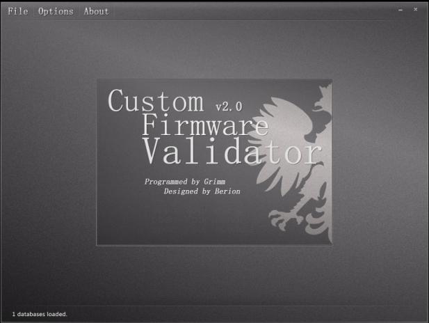 Custom Firmware Validator v2.0 Rev-8