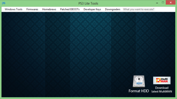 PS3 Lite Tools v0.5