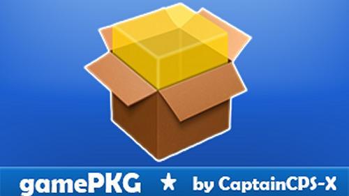 GamePKG v1.2