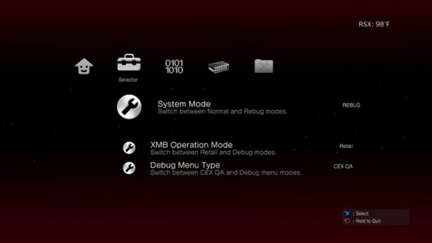 Rebug Toolbox for PS3 CFW Updated to Version 02.01.02