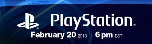 Возможно! Sony представит PS4 - 20 февраля.