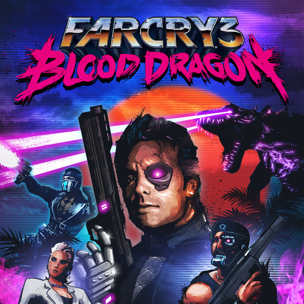 Far Cry 3 Blood Dragon PSN PS3 & Poker Nights 2 PSN PS3 By Duplex