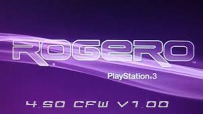 PS3 CFW 4.50 от Rogero v.1.01