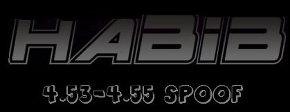 HABIB COBRA 4.53 SPOOF 4.55