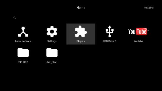 Movian 5.0.40 с функцией удалённого управления