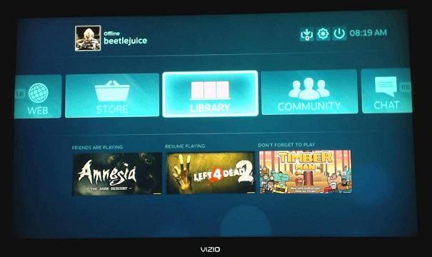 Steam запустили на PS4