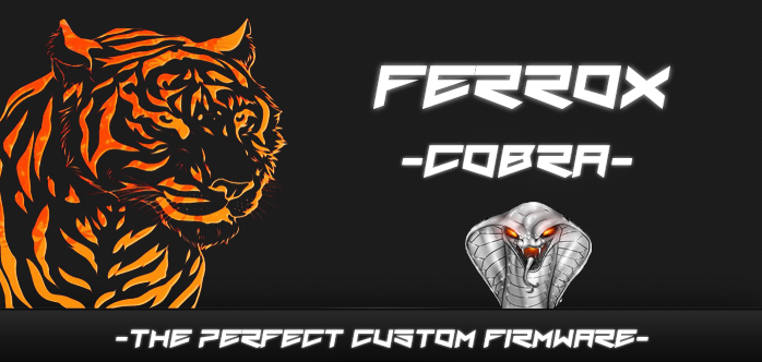 Ferrox PS3 Custom Firmware 4.84 v1.00 Cobra 7.55