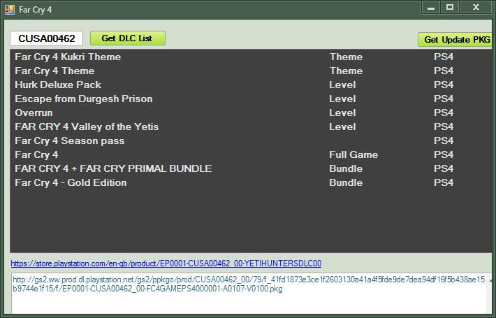 psDLC v5 - качает DLC для игр на взломанных PS4