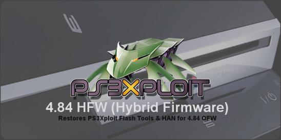 PS3 HFW (Hybrid Firmware) 4.84.2 - владельцы PS3 с официальной прошивкой 4.84 снова в деле!