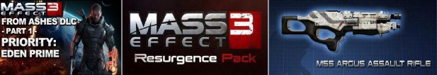 MASS EFFECT 3 DLC PACK (TB)