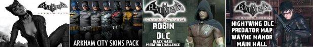 Активация DLC для Arkham City на True Blue
